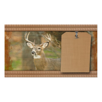 Cazador de los ciervos tarjetas de visita