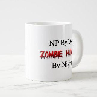 Cazador de NP/Zombie Taza De Café Grande