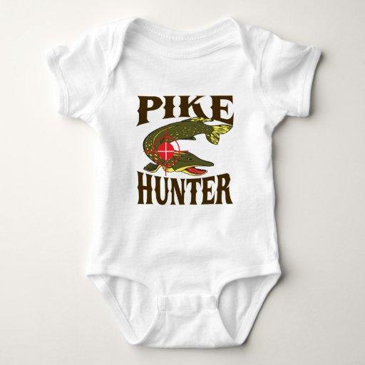 Cazador de Pike Mameluco De Bebé