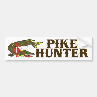Cazador de Pike Pegatina Para Auto