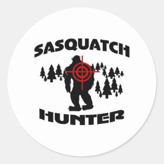 Cazador de Sasquatch Etiqueta