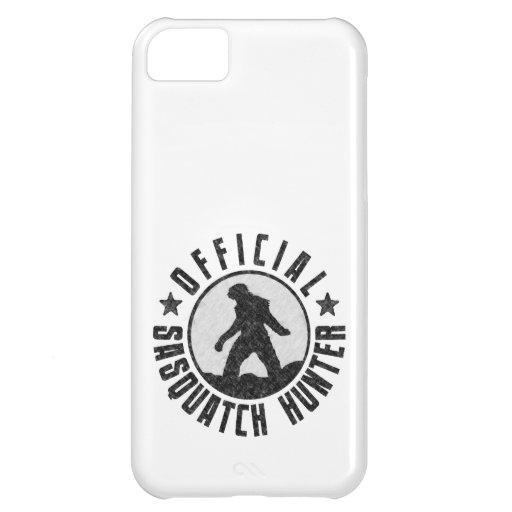 Cazador de Sasquatch - logotipo oficial del círcul Funda Para iPhone 5C