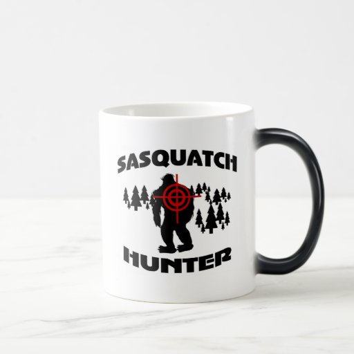 Cazador de Sasquatch Taza Mágica