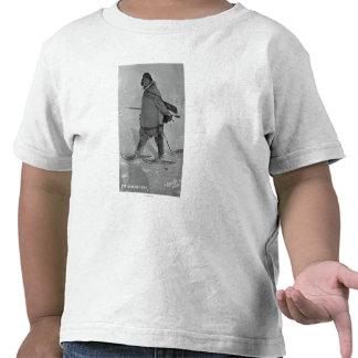 Cazador de sello de Alaska con la fotografía de Camiseta