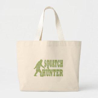 Cazador de Squatch en camuflaje Bolsas De Mano