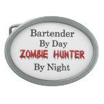 Cazador del camarero/del zombi hebillas cinturon ovales