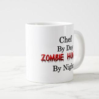 Cazador del cocinero/del zombi taza de café grande