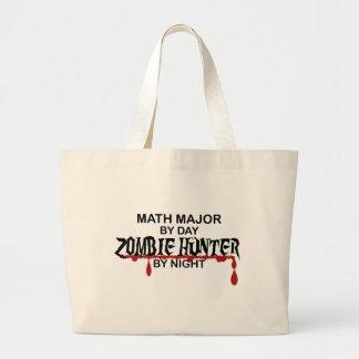 Cazador del comandante de matemáticas zombi bolsas
