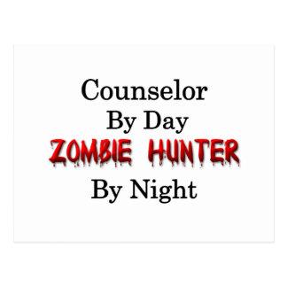 Cazador del consejero/del zombi postales