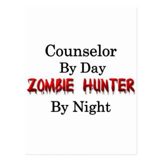 Cazador del consejero/del zombi tarjetas postales