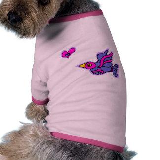 Cazador del corazón camiseta de perro