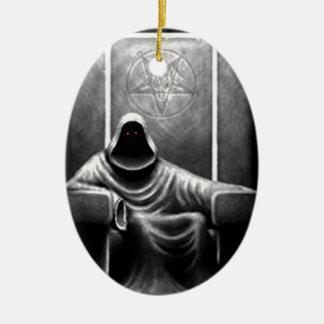 Cazador del demonio ornamento de navidad