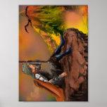 Cazador del dragón, chasseur de dragon impresiones