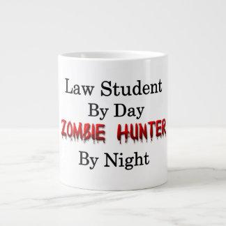 Cazador del estudiante de Derecho/del zombi Taza De Café Grande