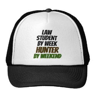 Cazador del estudiante de Derecho Gorros Bordados