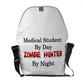 Cazador del estudiante de medicina/del zombi bolsas de mensajeria