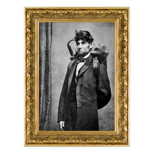 Cazador del fantasma de Abraham Lincoln Postales