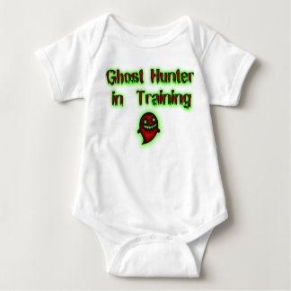 Cazador del fantasma en enredadera del niño del body para bebé