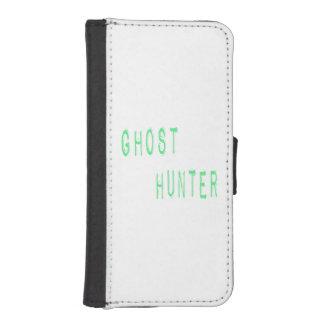 Cazador del fantasma funda billetera para teléfono