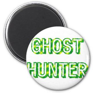 Cazador del fantasma imán redondo 5 cm