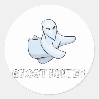Cazador del fantasma etiqueta