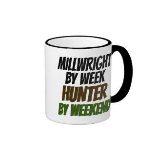 Cazador del Millwright Tazas De Café
