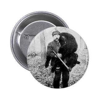 Cazador del oso, 1909 pin