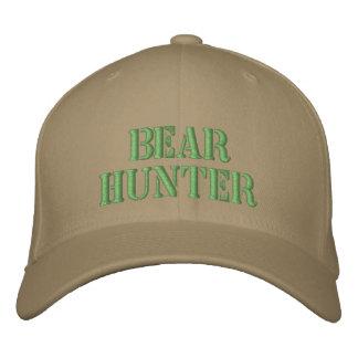 Cazador del oso gorra de béisbol bordada
