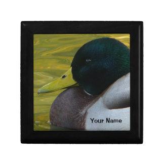 Cazador del pato - caja de regalo masculina de la