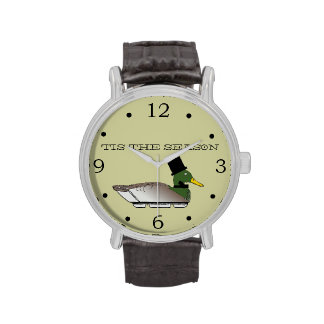 Cazador del pato reloj