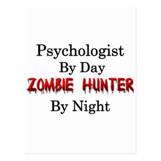 Cazador del psicólogo/del zombi tarjetas postales