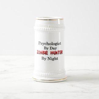 Cazador del psicólogo/del zombi jarra de cerveza
