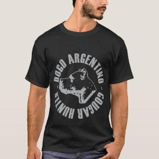 CAZADOR DEL PUMA DE DOGO ARGENTINO PLAYERA