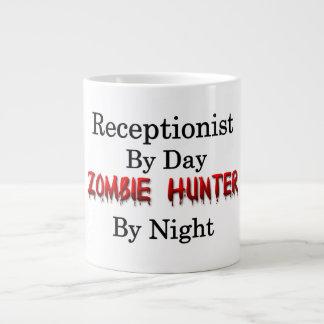 Cazador del recepcionista/del zombi taza de café grande