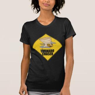 Cazador del tornado camiseta