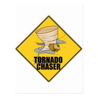 Cazador del tornado tarjeta postal