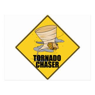 Cazador del tornado tarjetas postales