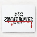 Cazador del zombi de CPA Tapetes De Ratones