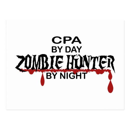 Cazador del zombi de CPA Tarjetas Postales