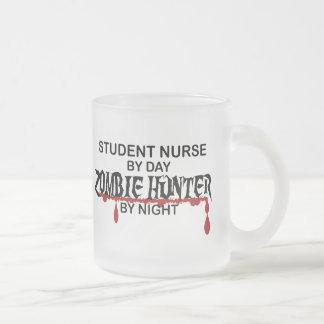 Cazador del zombi de la enfermera de estudiante tazas