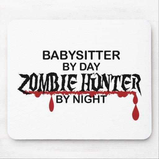 Cazador del zombi de la nin@era tapetes de ratones