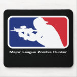 Cazador del zombi de la primera división - pistola alfombrillas de ratones