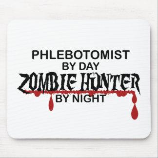 Cazador del zombi de Phlebotomist Mousepad