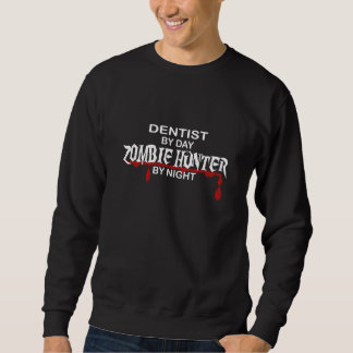 Cazador del zombi del dentista sudaderas encapuchadas