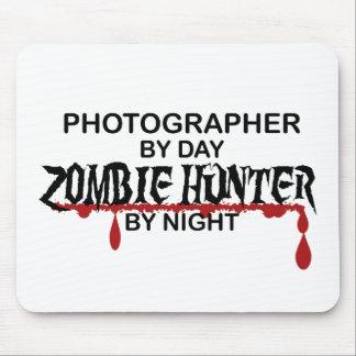 Cazador del zombi del fotógrafo tapetes de ratones