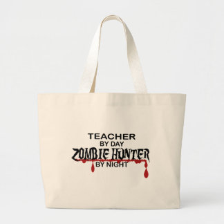 Cazador del zombi del profesor bolsa