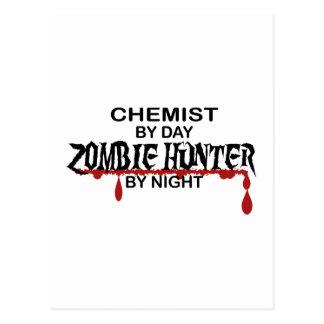 Cazador del zombi del químico tarjetas postales