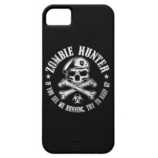 cazador del zombi funda para iPhone 5 barely there