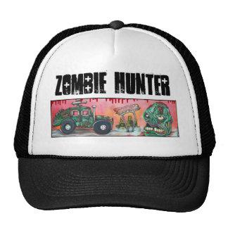 Cazador del zombi gorro de camionero