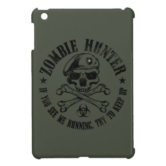 cazador del zombi iPad mini carcasas